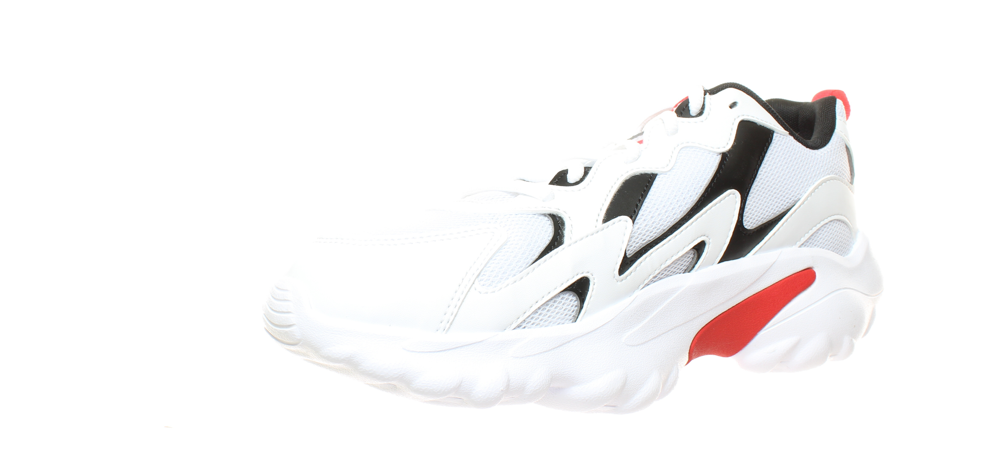 Reebok Mens Dmx Series 1000 White Running Shoes Size 10.5