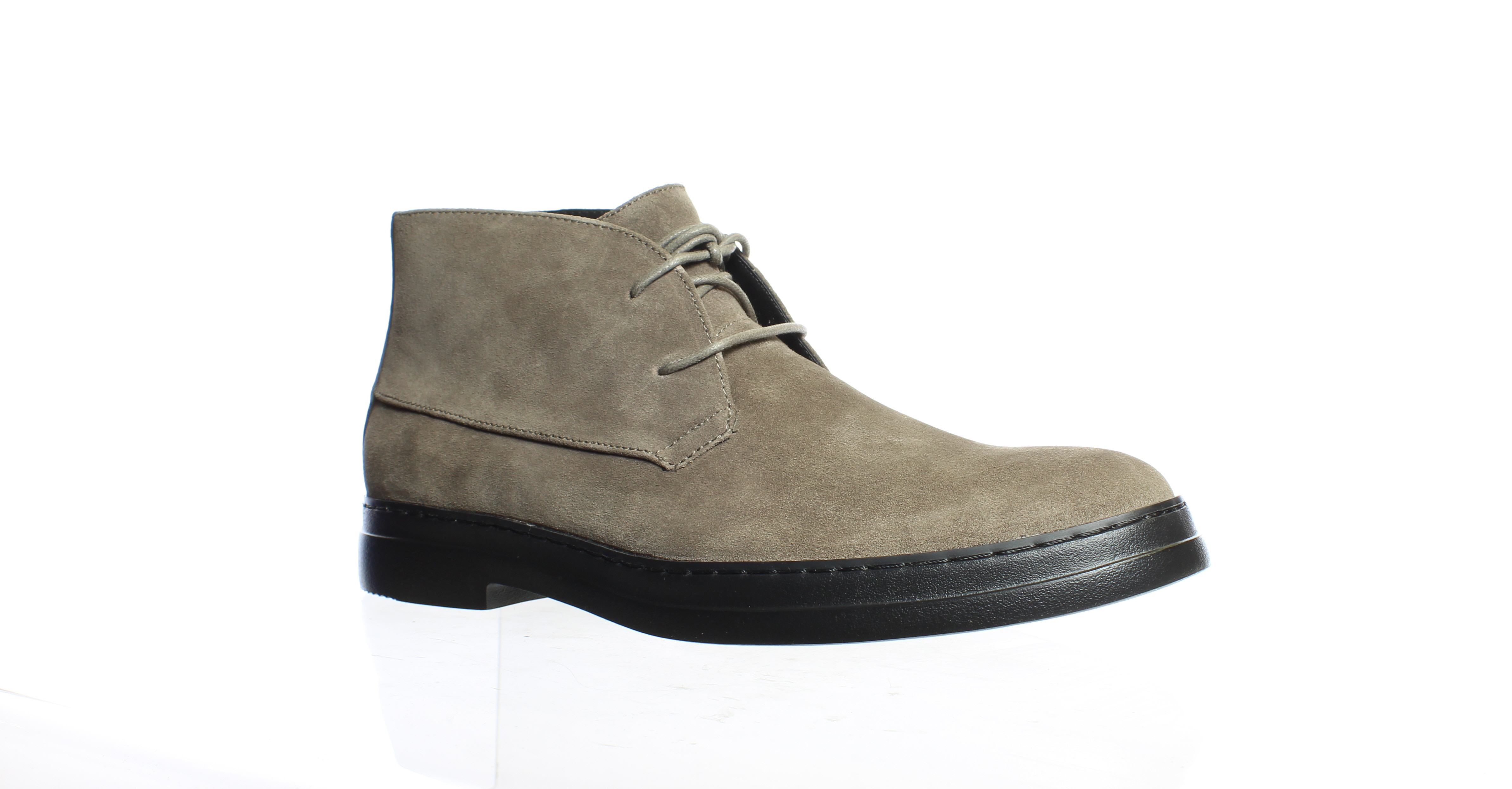 Calvin Klein Mens Rueben Army Fatigue Ankle Boots Size 9.5