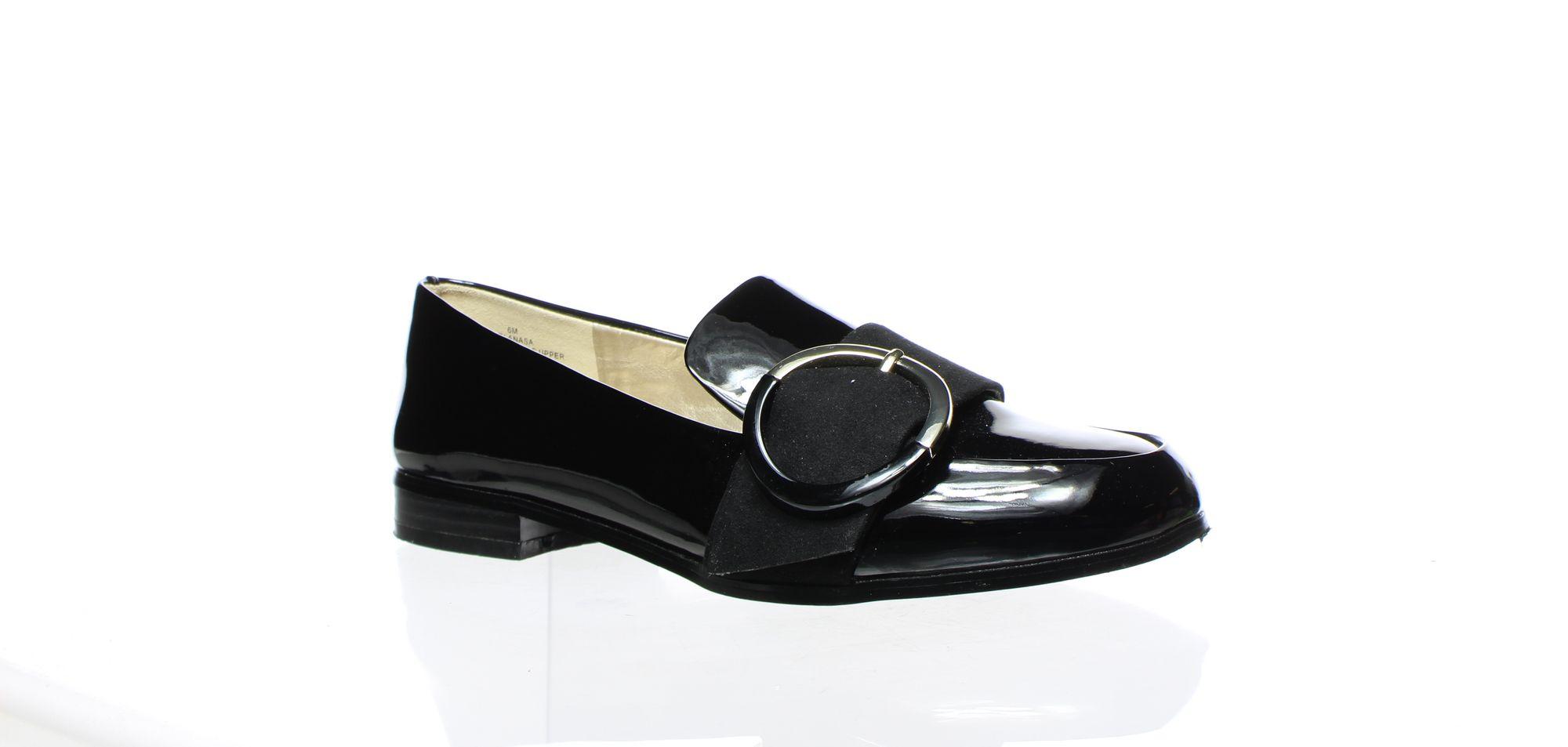 Bandolino Womens Lanasa Black Loafers