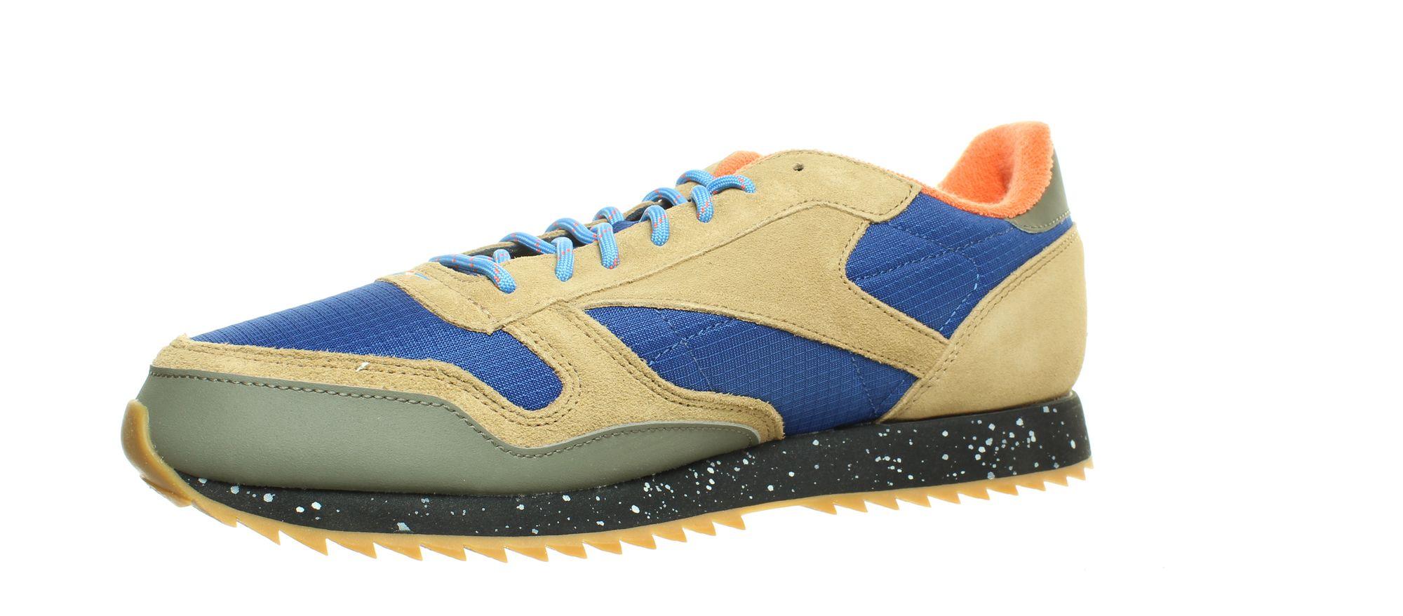 Reebok-Mens-Classic-Leather-Ripple-Fashion-Sneakers thumbnail 7