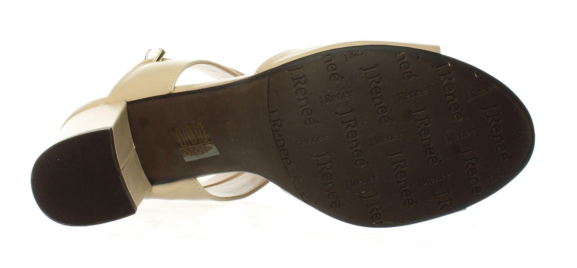 J. Renee Womens Drizella Nude Sandals Size 9 (836361) | eBay