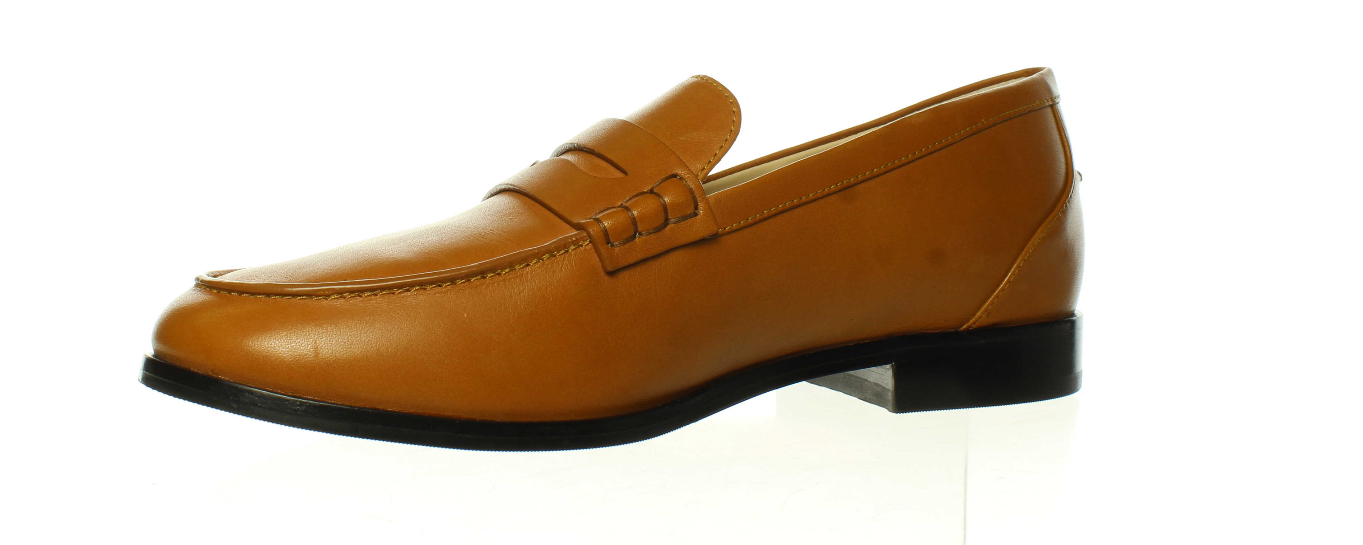 Cole Haan Womens Mckenna Penny Tan Loafers Size 6.5 ...