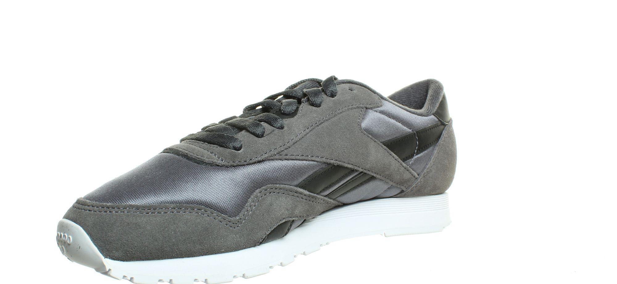 Reebok-Mens-Cl-Nylon-Fashion-Sneakers thumbnail 7
