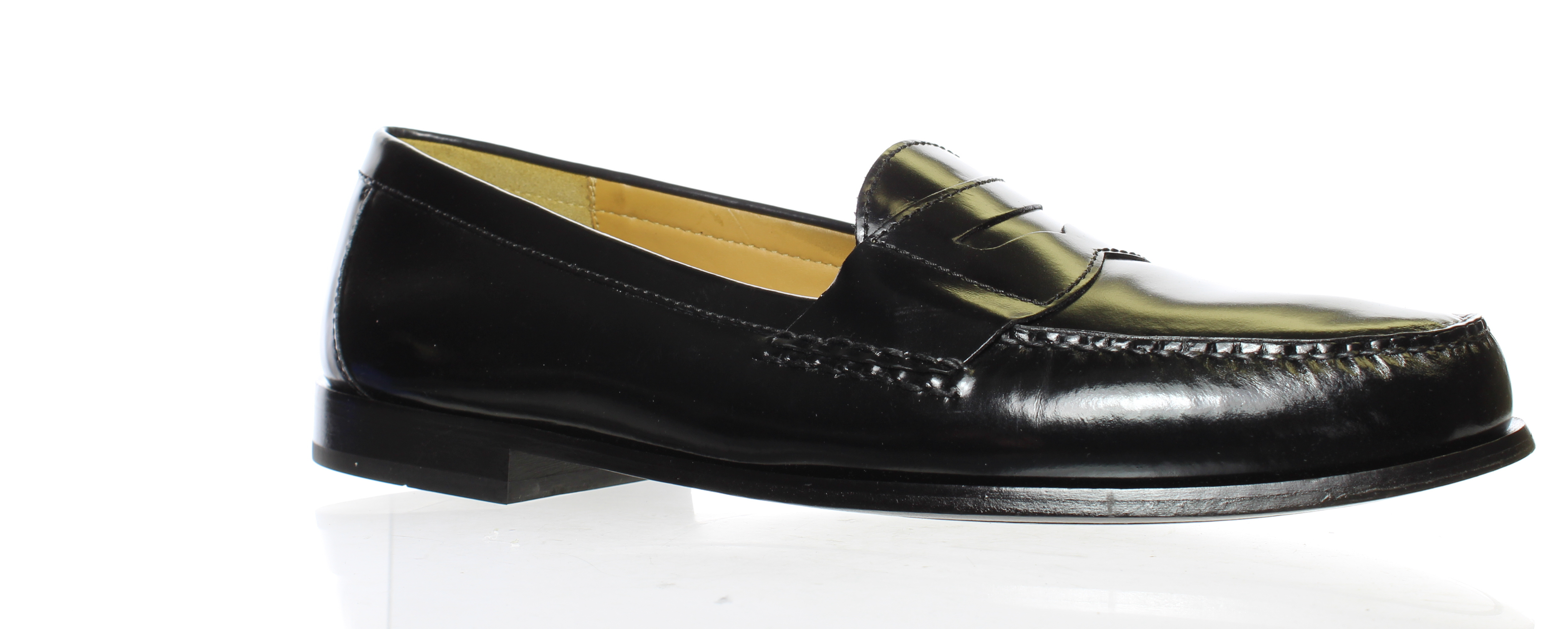 Cole Haan Mens Pinch Penny Black Loafers Size 15 (1291788 ...