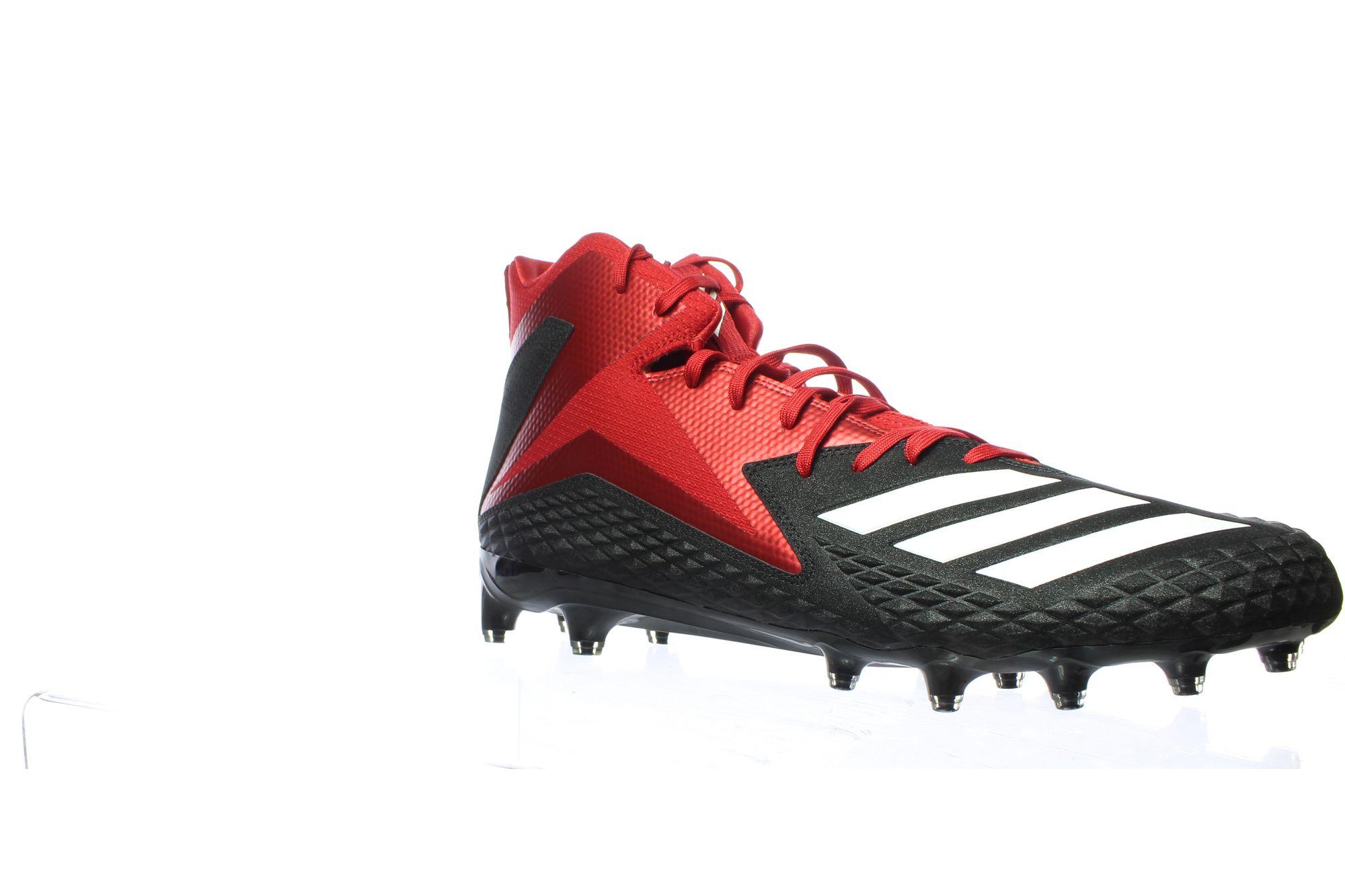 JG 738871  01 - Adidas Mens Freak X Black/White/Power Red Football Cleats Size 15 (738871)
