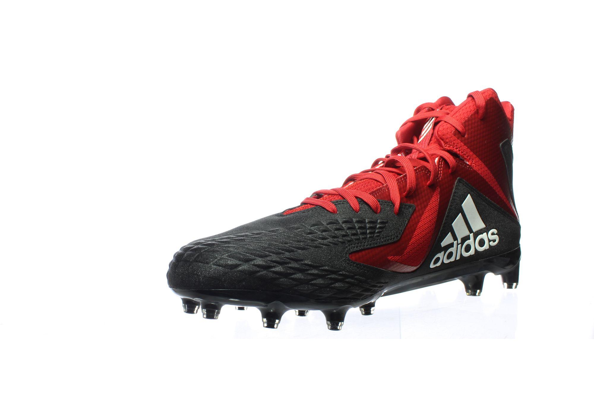 JG 738871  02 - Adidas Mens Freak X Black/White/Power Red Football Cleats Size 15 (738871)
