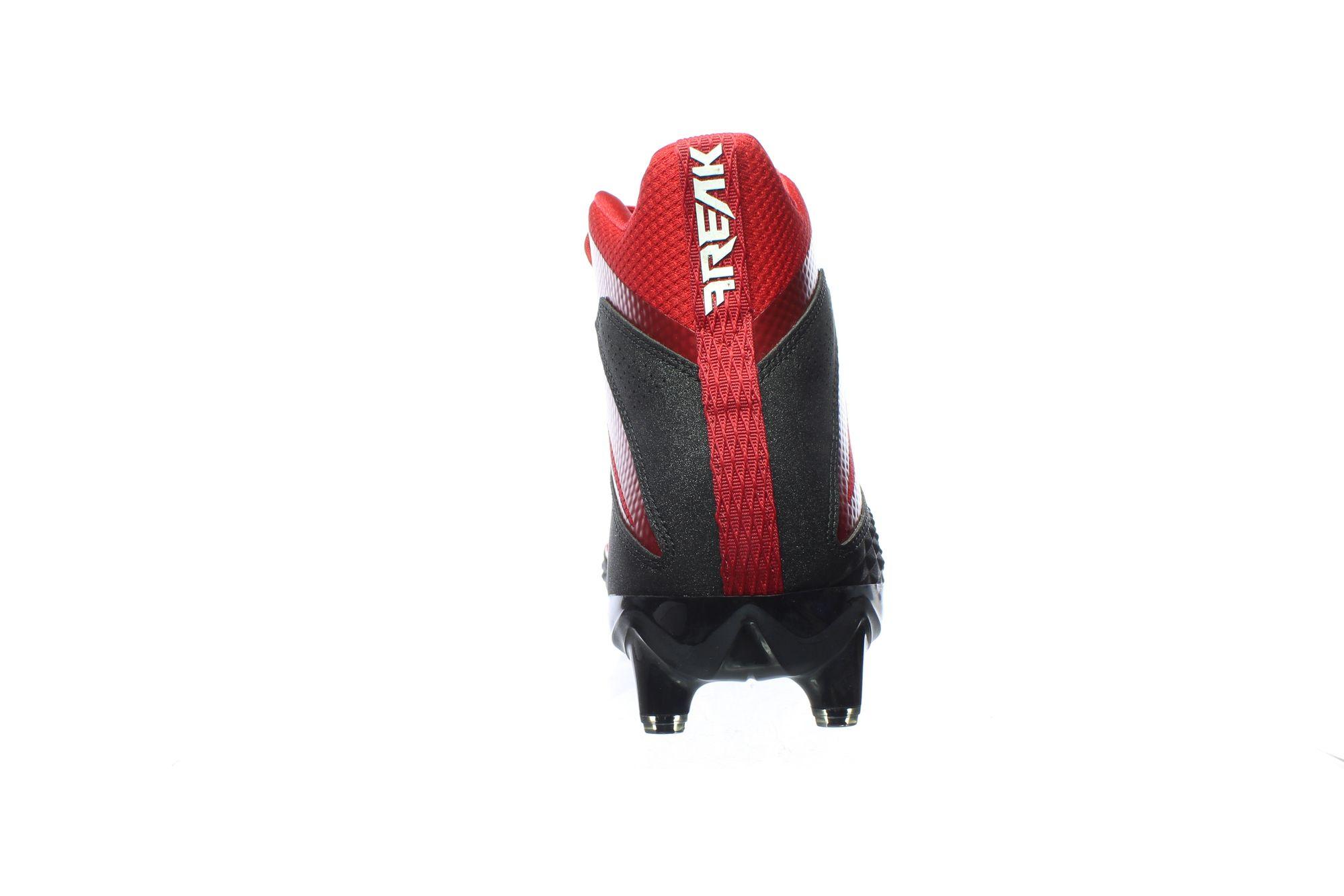 JG 738871  03 - Adidas Mens Freak X Black/White/Power Red Football Cleats Size 15 (738871)