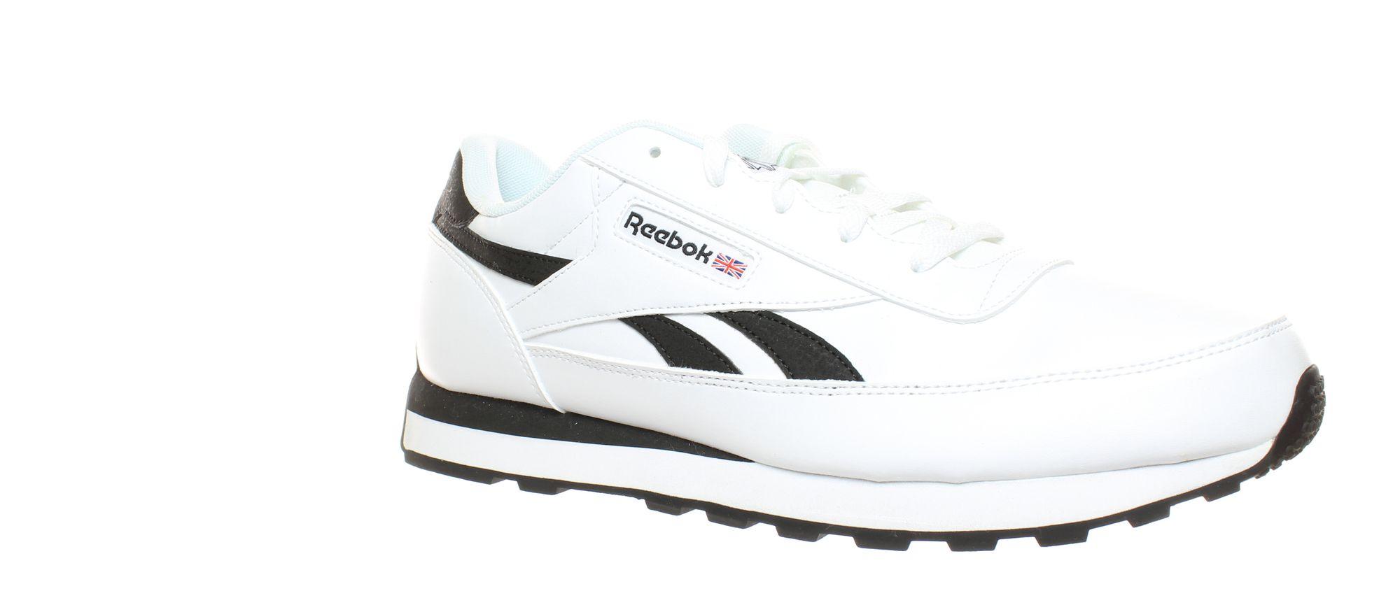 Details about Reebok Mens Classic Renaissance Us whiteBlack Fashion Sneaker Size 12.5