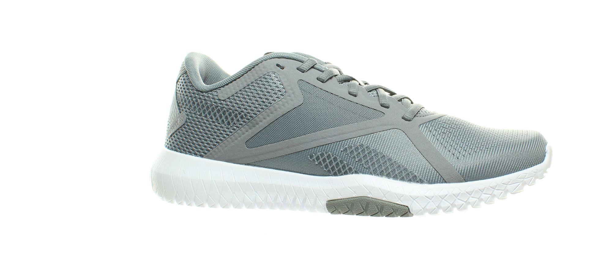 Reebok Flexagon Force 2.0 EG8761 Mens Gray Canvas Athletic Cross Training Shoes