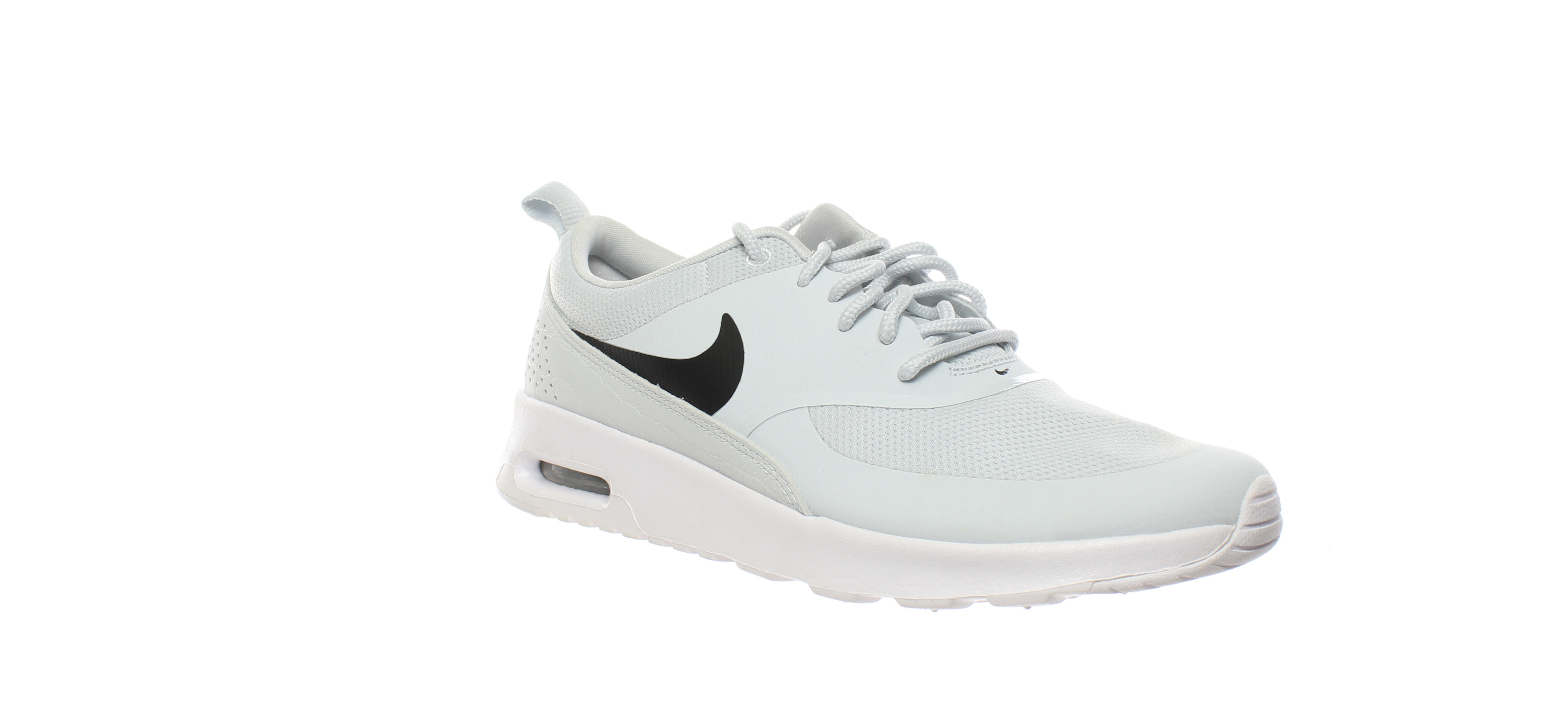 Nike Womens Air Max Thea Gray Running Shoes Size 7.5 (824193)