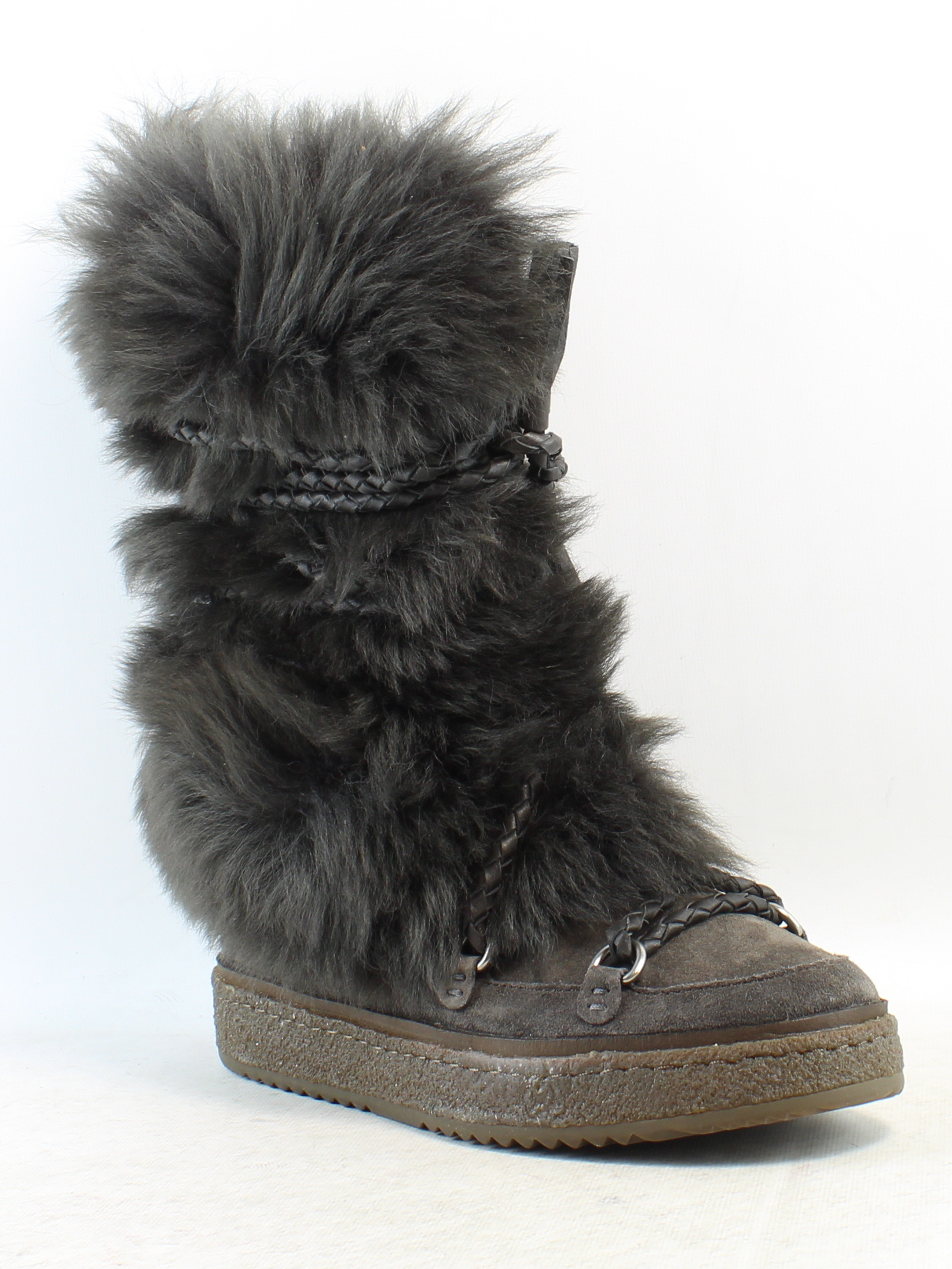 FRYE Womens Gail Shearling Tall Winter Boot
